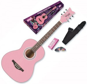 Daisy Rock Debutante Junior Miss Acoustic Guitar Starter Pack