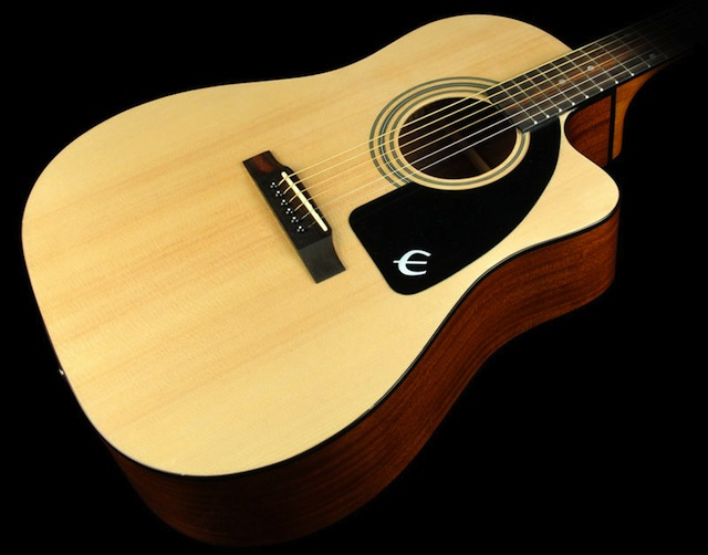 Epiphone acoustic guitar