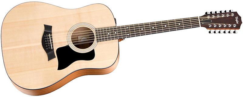 Taylor 150e Spruce/Sapele Dreadnought 12-String Acoustic-Electric Guitar